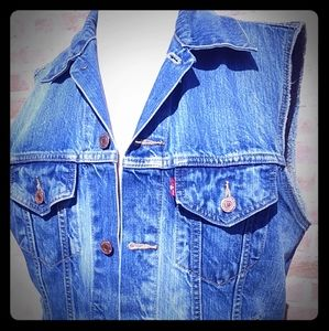 Vintage Levis Vest Mens size Medium